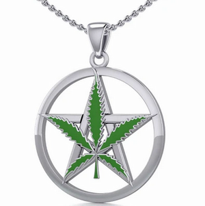 Silver Greenleaf Pendant